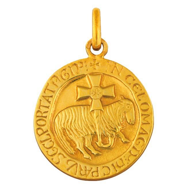 Médaille Agneau de Cluny 18mm