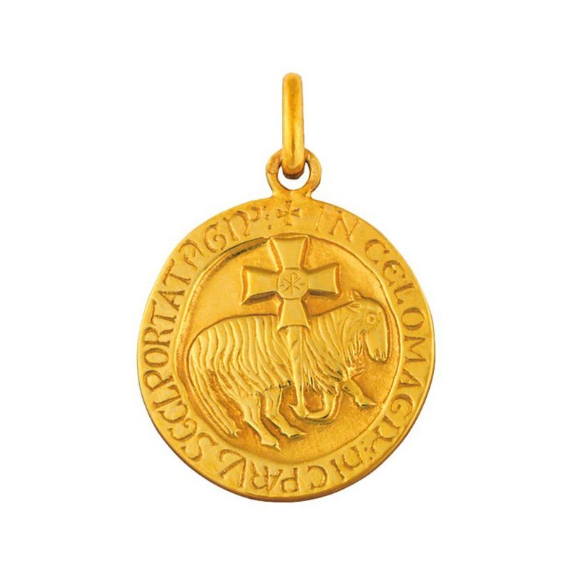 Medaille Agneau de Cluny 18mm
