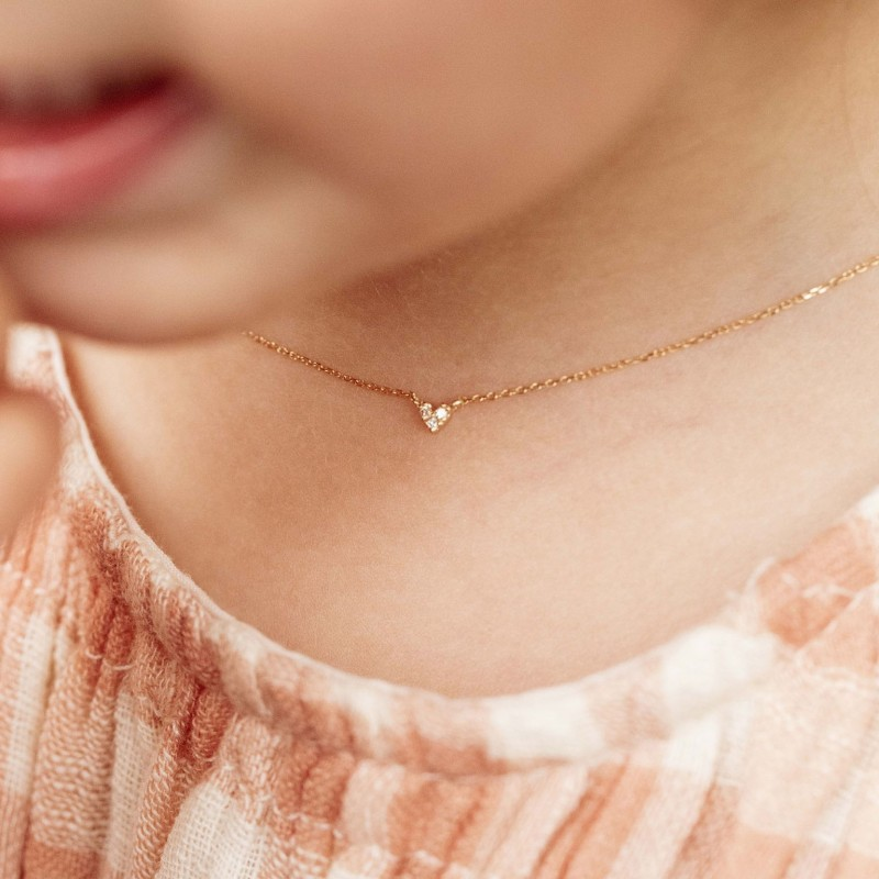 Collier coeur  Lucie
