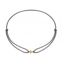 Bracelet cordon Croix Alice