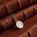 Medaille Mater Dei or et nacre