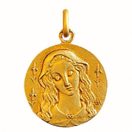 Médaille Vierge aux Lys