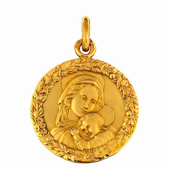 Médaille Vierge Impruneta