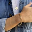 Bracelet triple joncs
