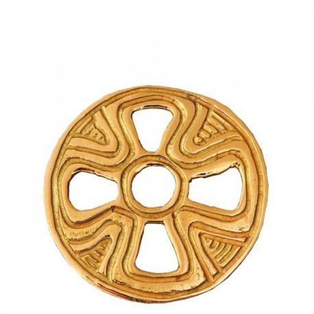 Médaille atelier Croix mérovingienne