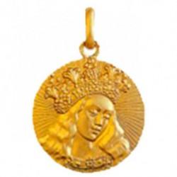 Médaille Vierge de Van Eyck