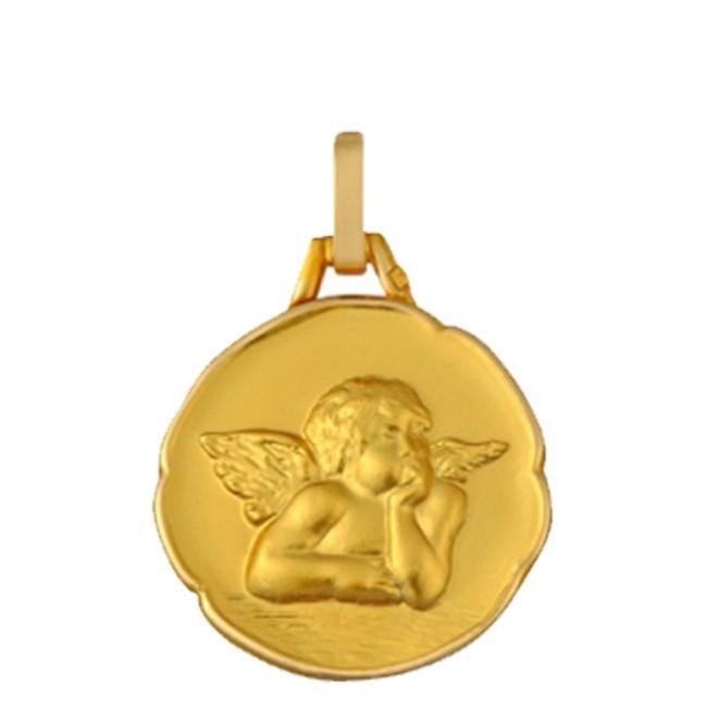 Médaille Ange bord cachet
