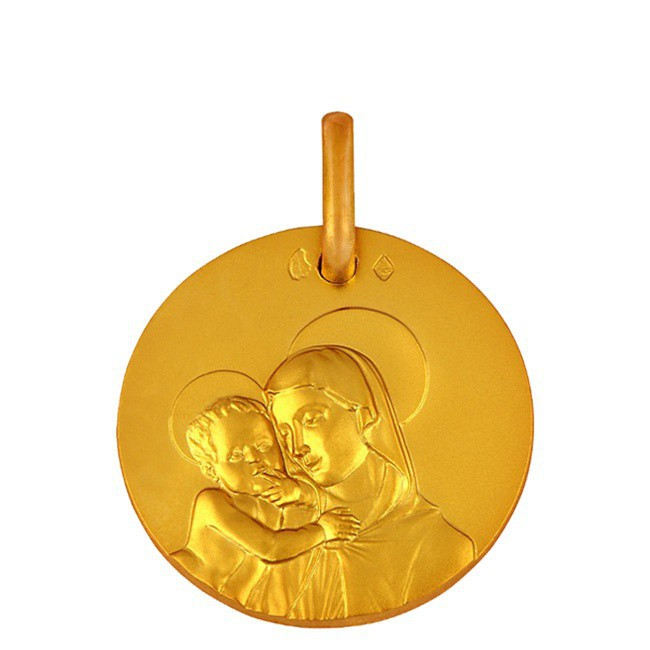 Médaille Vierge Della Robia