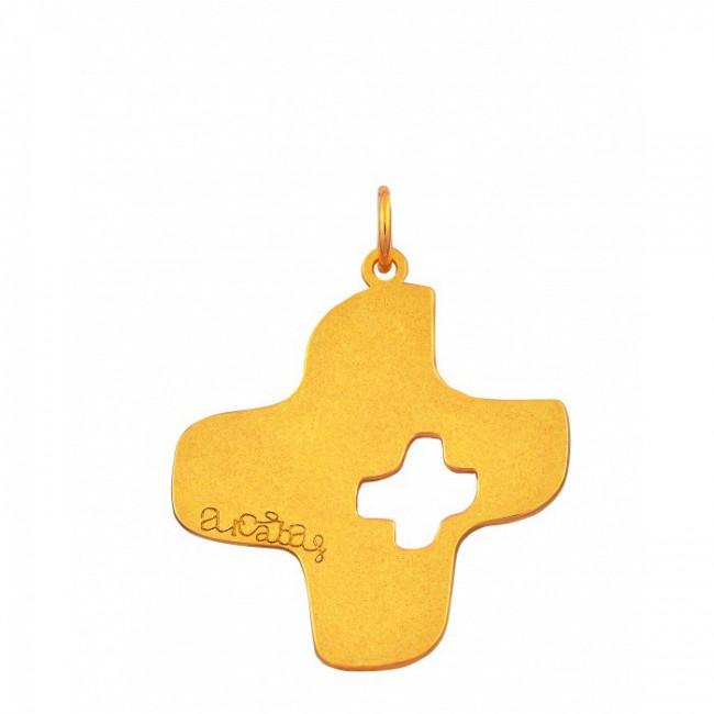 Pendentif croix Arcabas ajourée