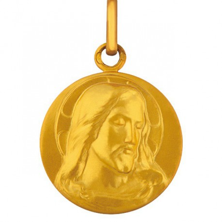 Medaille Christ a l'aureole