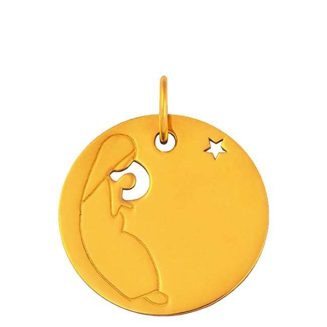 Médaille Vierge à l'étoile