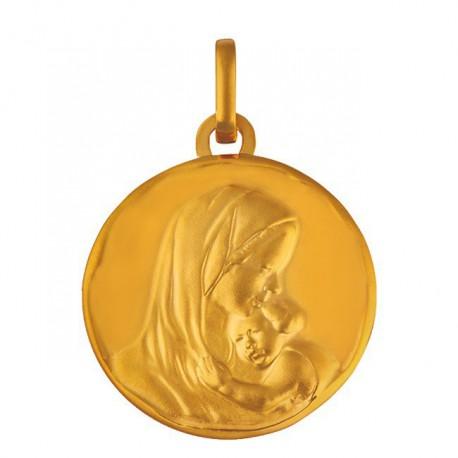 Médaille Vierge et l'enfant