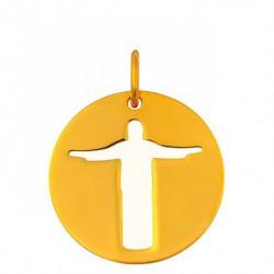 Médaille Christ de Rio