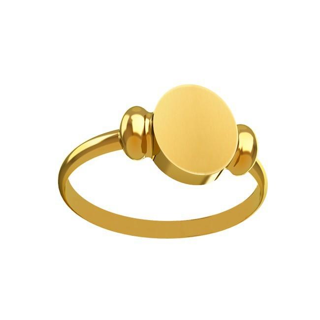 Chevalière anneau femme 9*11