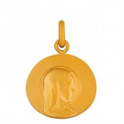 Médaille Vierge jeune galet