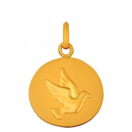 Medaille Colombe galet