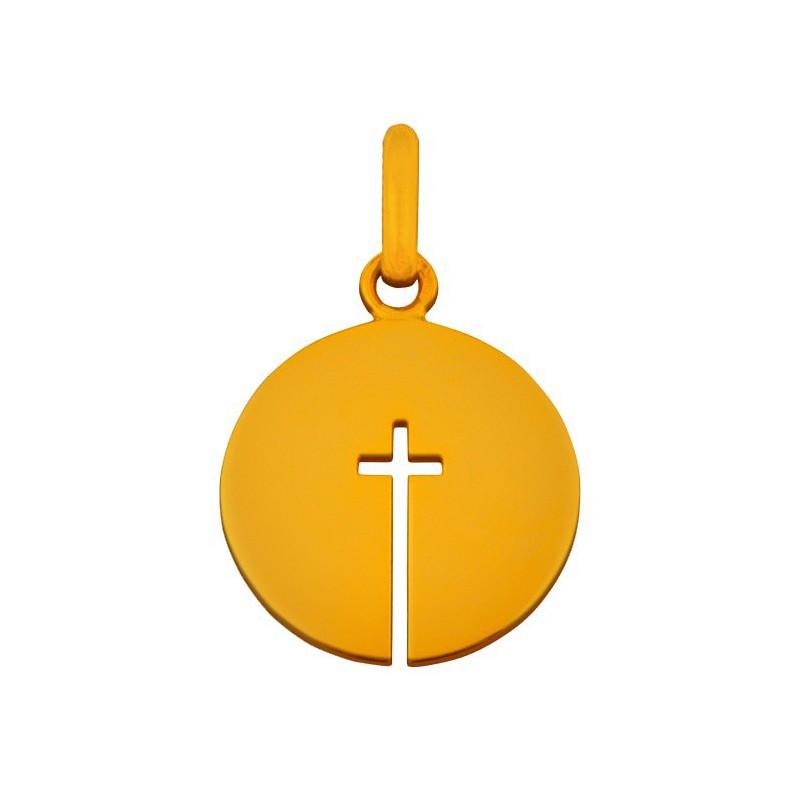 Pendentif croix ouverte 14mm