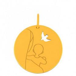 Médaille esquisse Vierge d'Espérance