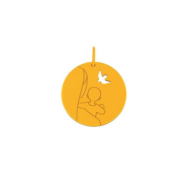 Médaille mini Vierge d'espérance