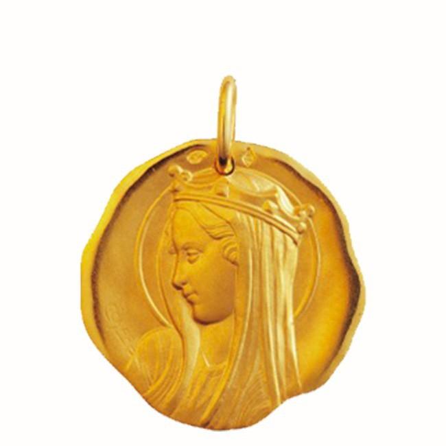 Médaille Vierge du XIIème