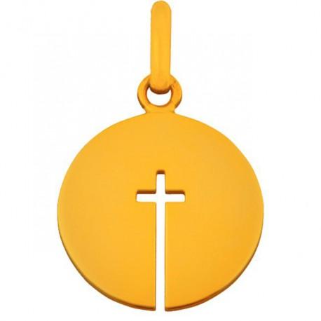 Pendentif croix ouverte 18mm