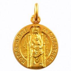 Médaille Notre Dame de Chartres