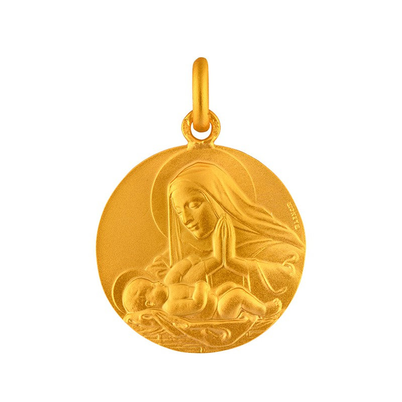 Medaille Vierge adorant