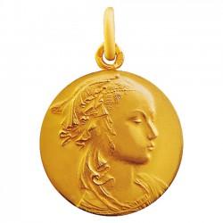 Medaille Vierge Adorazione