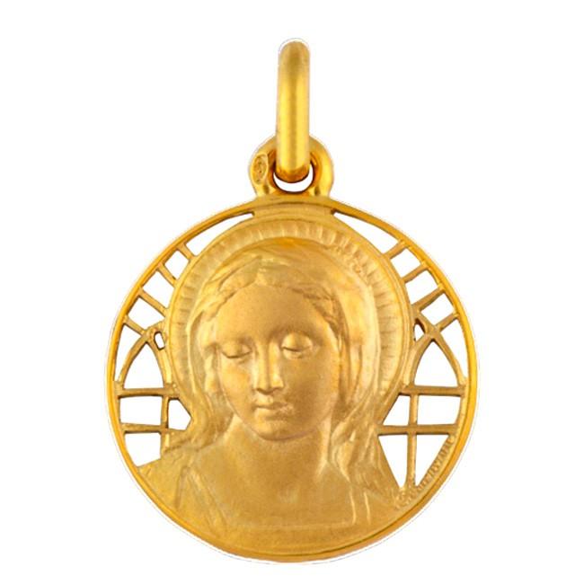 Médaille Virgo Amabilis ajourée