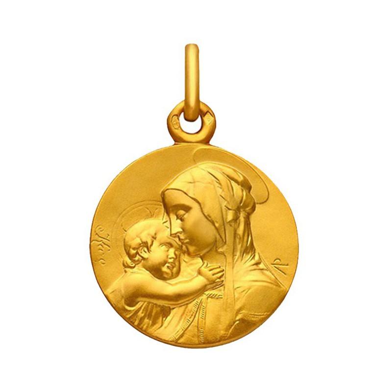 Medaille Vierge à l'Enfant 20mm