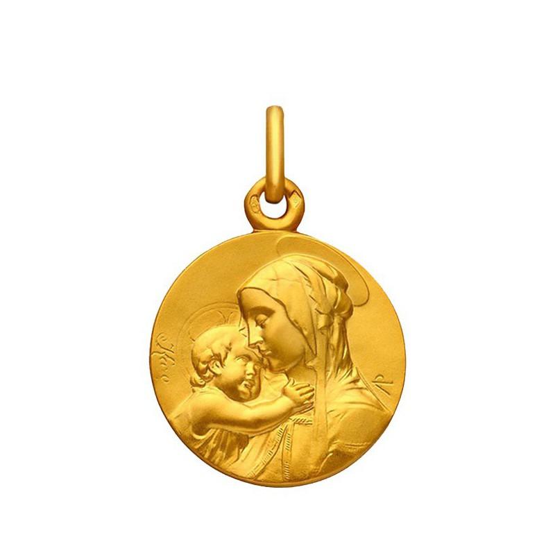 Medaille Vierge a l'enfant 16mm