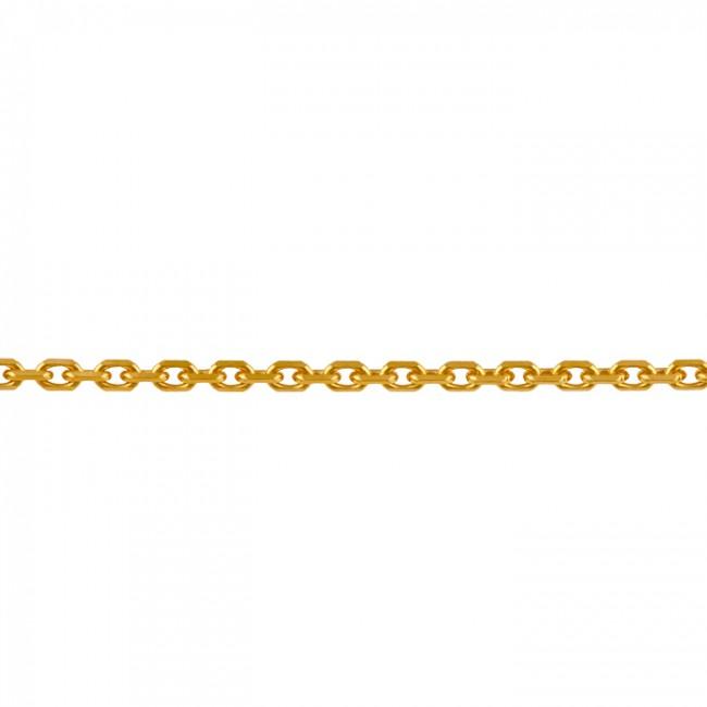 Chaine maille forçat longue 50cm 3.95gr