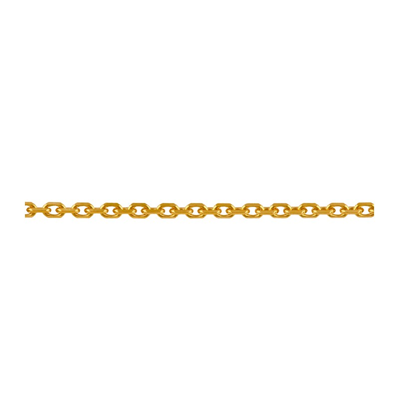 Chaine or maille forcat 50cm 3.50gr