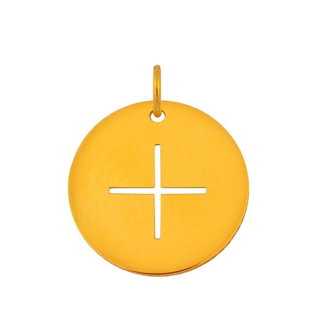 Médaille Croix fine